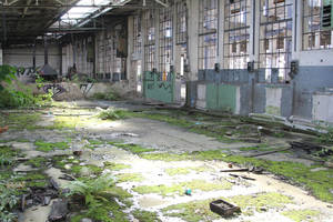 Industrial decay Stock 38 by Malleni-Stock