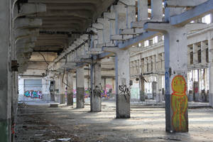 Industrial decay Stock 56 by Malleni-Stock