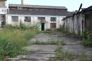 Industrial decay Stock 58 by Malleni-Stock