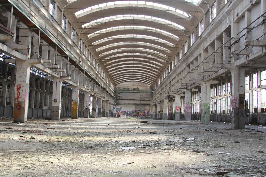 Industrial decay Stock 63 by Malleni-Stock