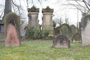 Jewish Cemetery Stock 19 by Malleni-Stock