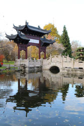Chinese garden Stock 37 by Malleni-Stock