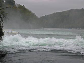 Rhine Falls Stock 06 by Malleni-Stock