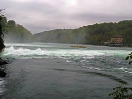 Rhine Falls Stock 02 by Malleni-Stock