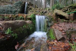 Waterfall Stock 20 by Malleni-Stock
