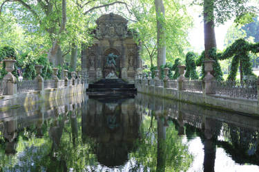Jardin du Luxembourg Stock 12 (private use) by Malleni-Stock