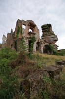 Neuscharfeneck Ruins Stock 21 by Malleni-Stock