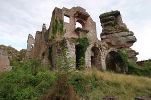 Neuscharfeneck Ruins Stock 22 by Malleni-Stock