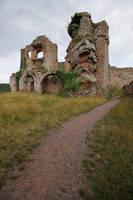 Neuscharfeneck Ruins Stock 24 by Malleni-Stock