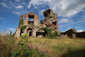 Neuscharfeneck Ruins Stock 32 by Malleni-Stock