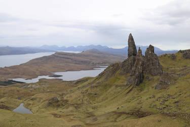 Scotland Stock 426 by Malleni-Stock