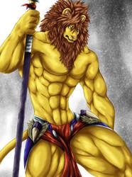 Lion Warrior by Chibikoma
