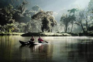 Mystical Situ Gunung by thesaintdevil