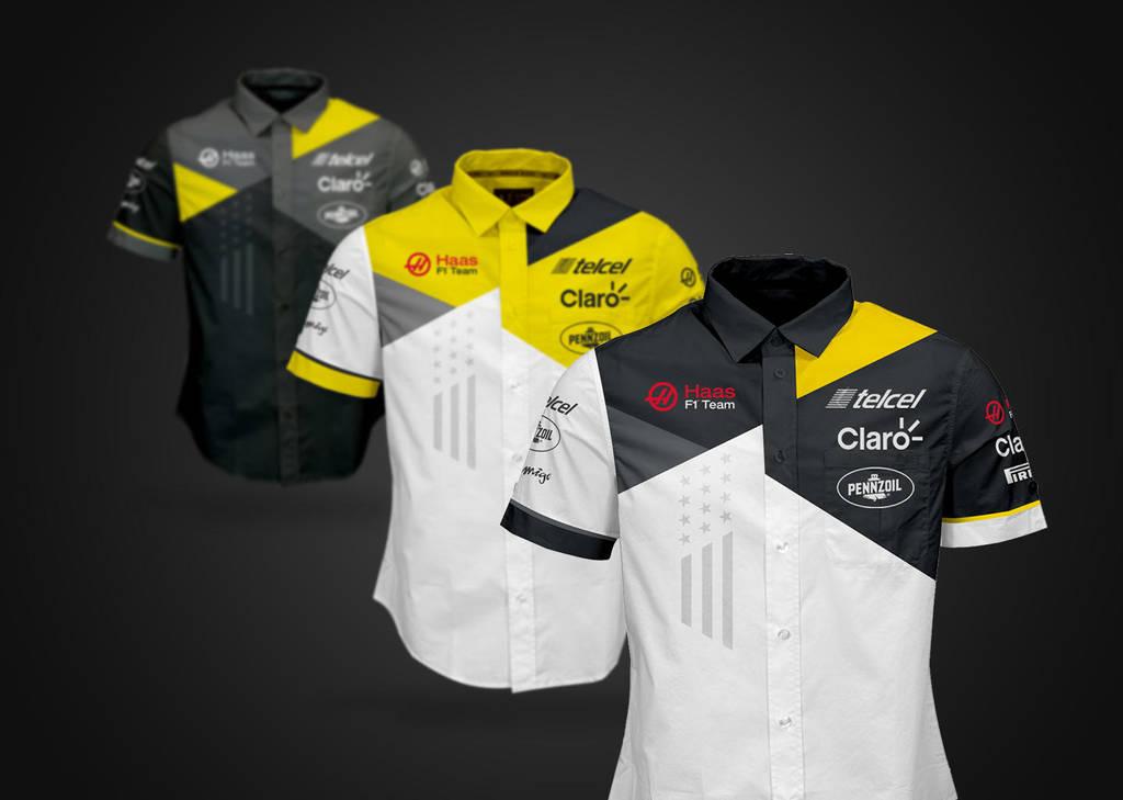 2016 Haas F1 Ferrari Shirts by andwerndesign