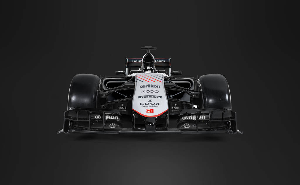 2017 Sauber Mercedes F1 Front by andwerndesign