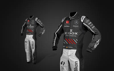 2017 Sauber Mercedes f1 Suits by andwerndesign