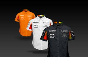 2017 Sahara Force India F1 Shirts by andwerndesign