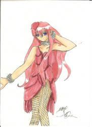 Luka in a Tuna Dress by emmystar