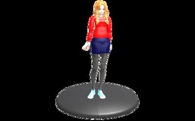 MMD - Amy Pond Figure by emmystar