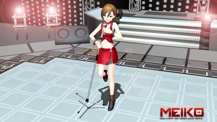 MMD - MEIKO V3 on stage by emmystar