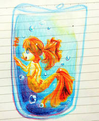 Goldfish by scarlettstrid