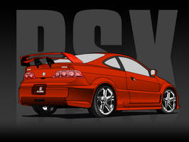 Acura RSX by MonsterGrafix
