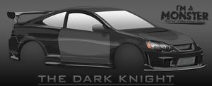 Honda - The Dark Knight by MonsterGrafix