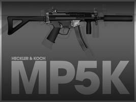 Heckler-Koch MP5K by MonsterGrafix