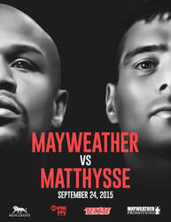Mayweather vs. Matthysse by MonsterGrafix