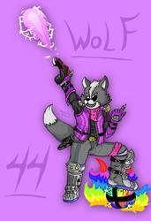 [44] Wolf O'Donnel - Smash Ultimate Fan art. by Victor-00Riolu