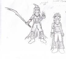 Ninja Wizard by Sadie-Dkirin