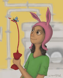 Bob's Burgers - Louise Belcher by drad1