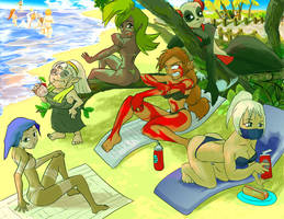 Dofus Beach Girls 2 by studiobit