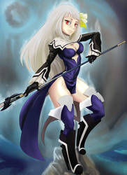 Magnolia of Bravely Second by studiobit