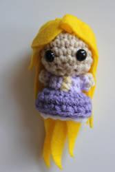 Tiny Rapunzel by craftycalamari