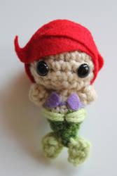 A Little Mermaid by craftycalamari