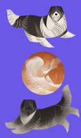Geometric dogs - Schapendoes by Kelgrid
