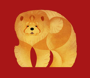 Year of the Dog - Chow Chow by Kelgrid
