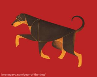 Year of the Dog - Dobermann by Kelgrid