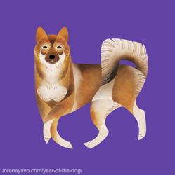 Year of the Dog - Shikoku by Kelgrid