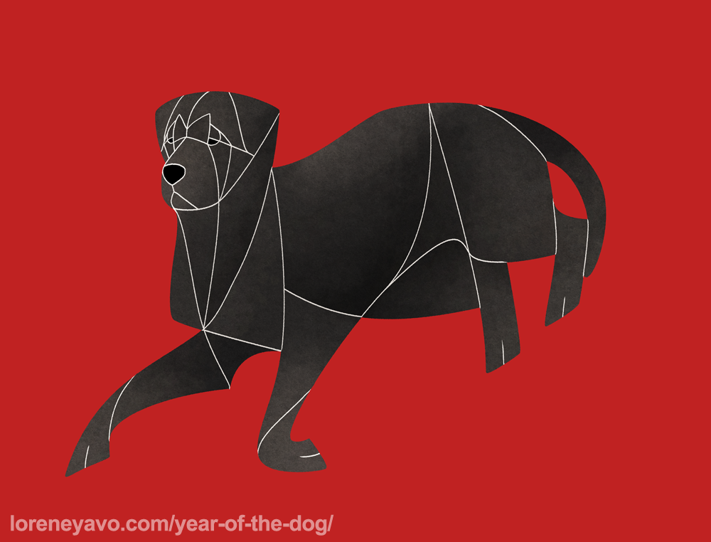 Year of the Dog - Cane Corso by Kelgrid