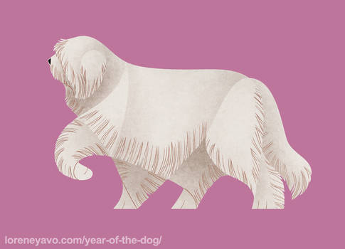 Year of the Dog - South Russian Ovcharka by Kelgrid