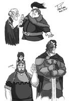 Game of Thrones Sketch 3 by JoaoPedroCS