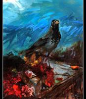 The Crow by SonerGoksay