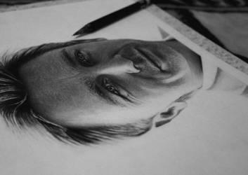 Daniel Craig WIP by Electricgod