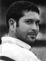 Sachin Tendulkar by Electricgod