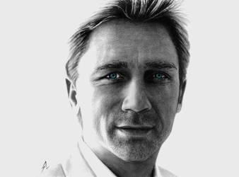Daniel Craig by Electricgod
