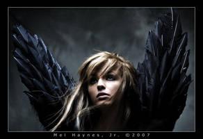 desending angel by raycaster