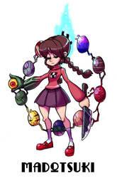 Madotsuki Is skullgirl by sarikyou