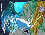 Street Magic: Neptune the Merman of the Deep by SassyWritter